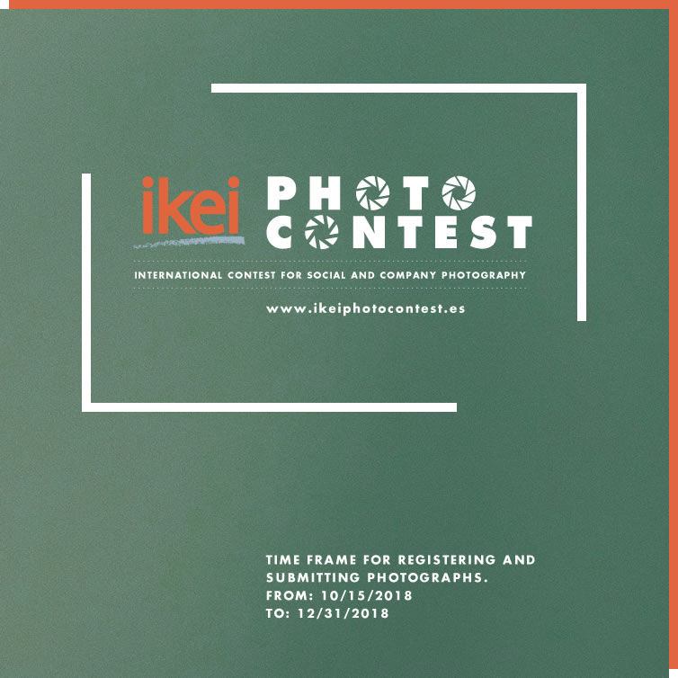 Ikei Photo Contest - Time frame for registering and Submitting photographs. From: 15/10/2018 To: 31/12/2018