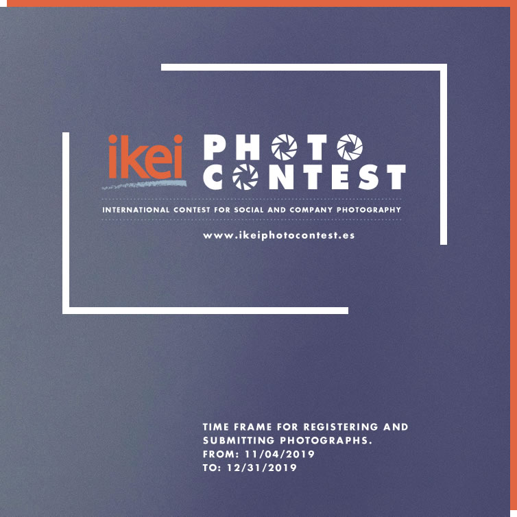 Ikei Photo Contest - Time frame for registering and Submitting photographs. From: 04/11/2019 To: 31/12/2019