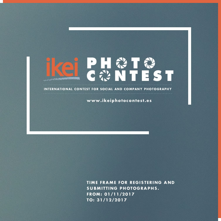 Ikei Photo Contest - Time frame for registering and Submitting photographs. From: 01/11/2017 To: 31/12/2017